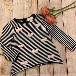 Kate Spade Black & White Thin Sweater